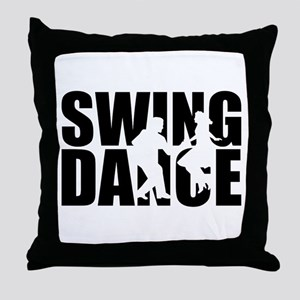 Swing dance Throw Pillow
