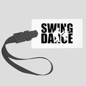 Swing dance Large Luggage Tag