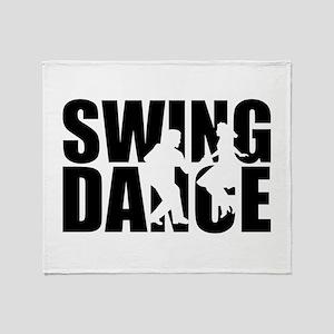 Swing dance Throw Blanket