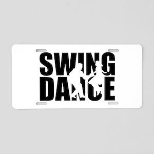 Swing dance Aluminum License Plate