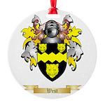 West Round Ornament