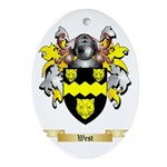 West Oval Ornament