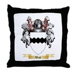 West 2 Throw Pillow