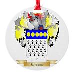 Wesson Round Ornament