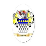 Wesson Oval Car Magnet