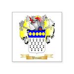 Wesson Square Sticker 3