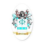 Wessling Oval Car Magnet