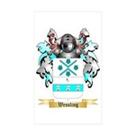 Wessling Sticker (Rectangle 10 pk)