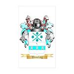 Wessling Sticker (Rectangle 50 pk)