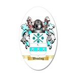 Wessling 35x21 Oval Wall Decal