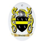 Weslake Oval Ornament