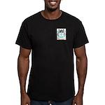 Wertz Men's Fitted T-Shirt (dark)