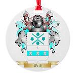 Wertz Round Ornament