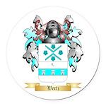 Wertz Round Car Magnet