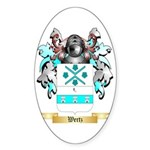 Wertz Sticker (Oval 10 pk)