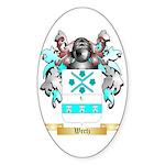 Wertz Sticker (Oval 50 pk)