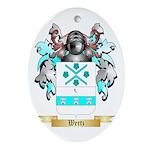 Wertz Oval Ornament