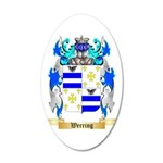 Werring 35x21 Oval Wall Decal