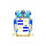 Werren Sticker (Rectangle 50 pk)