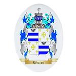 Werren Oval Ornament