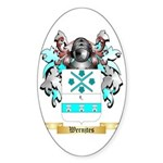 Wernjtes Sticker (Oval 10 pk)