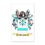 Wernjtes 35x21 Wall Decal