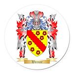 Werner Round Car Magnet