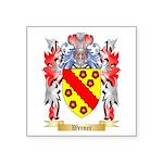 Werner Square Sticker 3