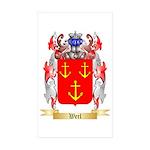 Werl Sticker (Rectangle 50 pk)