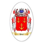 Werl Sticker (Oval 50 pk)