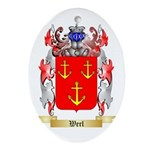 Werl Oval Ornament