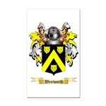 Wentworth Rectangle Car Magnet