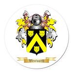 Wentworth Round Car Magnet