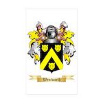 Wentworth Sticker (Rectangle 50 pk)