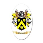 Wentworth 35x21 Oval Wall Decal