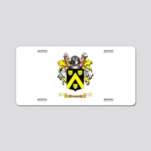 Wentworth Aluminum License Plate