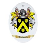 Wentworth Oval Ornament