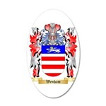 Wenham 35x21 Oval Wall Decal