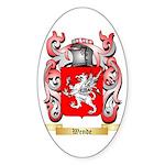 Wende Sticker (Oval 10 pk)