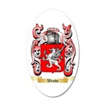 Wende 20x12 Oval Wall Decal