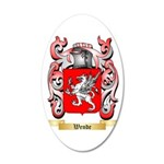 Wende 35x21 Oval Wall Decal