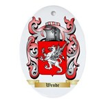 Wende Oval Ornament