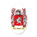 Wend Oval Car Magnet