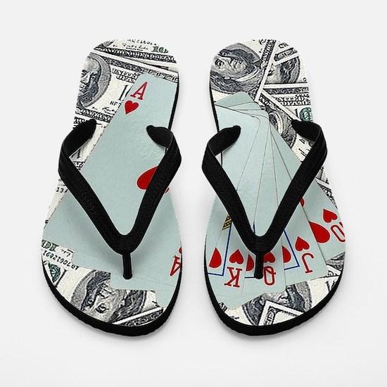 Cute Symbol Flip Flops