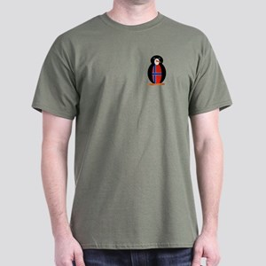 Penguin Flag Norway or Norge Dark T-Shirt