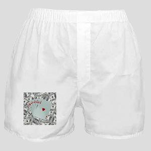 Royal Flush Hearts Boxer Shorts