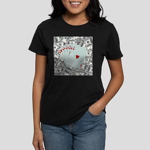 Royal Flush Hearts T-Shirt