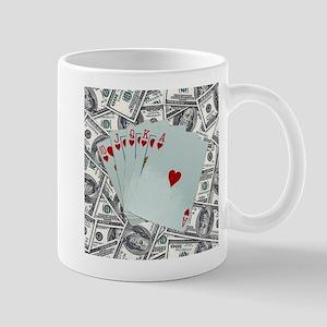 Royal Flush Hearts Mugs
