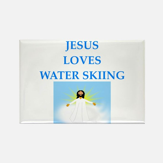 water skiing Magnets
