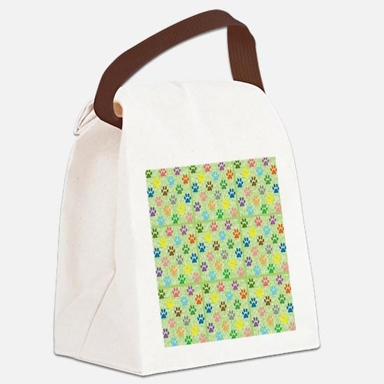 Cute Tracker Canvas Lunch Bag